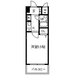 日神パレステージ横浜南[6階]の間取り