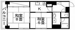 新潟県新潟市中央区弁天1丁目の賃貸マンションの間取り