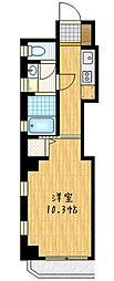 ロロール調布[5階]の間取り
