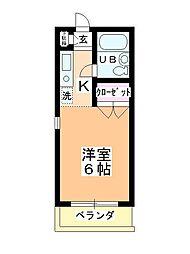 ステーションヴィラ鶴ヶ島[220号室]の間取り