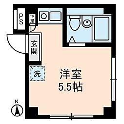 アムス堀ノ内B棟[3階]の間取り