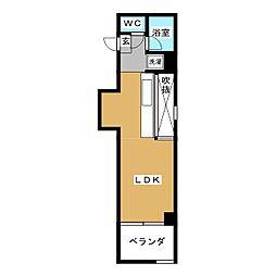 CRETACEOUS PARKⅠ[3階]の間取り
