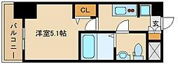 アリビオ立花II[11階]の間取り
