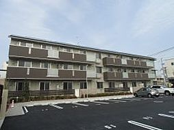 京都府京都市右京区西院六反田町の賃貸アパートの外観