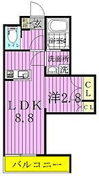 Saariselka 柏 〜サーリセルカ カシワ〜[106号室]の間取り