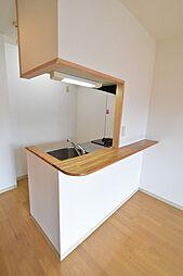 ラフィーネの使いやすいカウンタータイプのキッチン