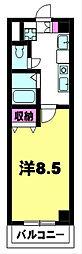 クレアトゥ−ル21[5階]の間取り