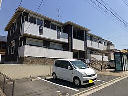 京都府木津川市州見台7丁目の賃貸アパートの外観