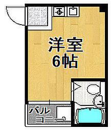 ドエル千島[5階]の間取り