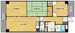 広島県広島市中区宝町の賃貸マンションの間取り