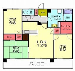 イマージュアネックス[2階]の間取り