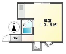 MONOLITH(モノリス)[6階]の間取り