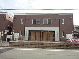 愛知県あま市篠田西鳥の賃貸アパートの外観