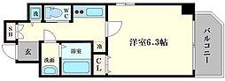 ララプレイス京町堀プロムナード[2階]の間取り