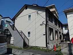 神奈川県川崎市幸区東小倉の賃貸アパートの外観