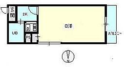 第14やたがいビル[4階]の間取り
