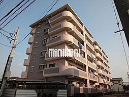 愛知県岡崎市大和町字沓市場の賃貸マンションの外観
