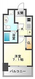 T's square江坂[10階]の間取り
