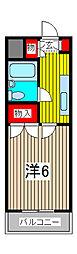 第3ホソブチハイツ[2階]の間取り