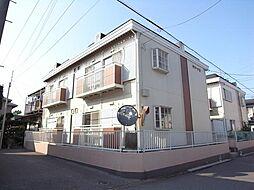 千葉県船橋市習志野2丁目の賃貸アパートの外観