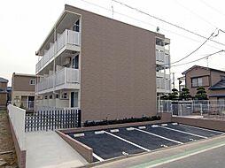 東京都葛飾区西水元6丁目の賃貸マンションの外観