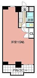 第8エルザビル[706号室]の間取り