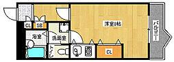 京都府京都市南区久世中久世町5丁目の賃貸マンションの間取り