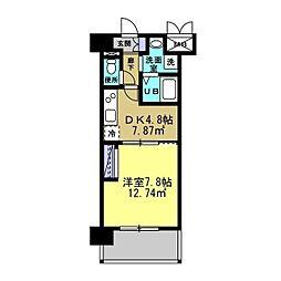 MANAKA BLD[302号室]の間取り