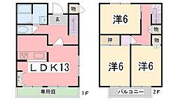 [一戸建] 兵庫県姫路市飾磨区妻鹿 の賃貸【/】の間取り