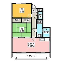 LINX[1階]の間取り