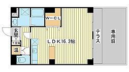 兵庫県姫路市別所町佐土2丁目の賃貸マンションの間取り