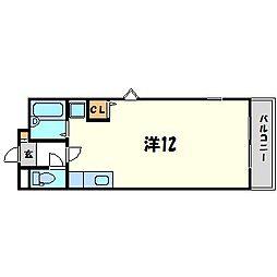 エスポワール田代[1階]の間取り