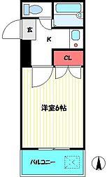 ラ・ベルティ成増パートI[102号室]の間取り