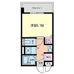 神奈川県座間市相模が丘5の賃貸マンションの間取り