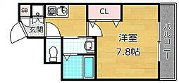 リヴィックスマンション[5階]の間取り
