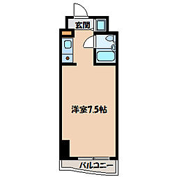 テディマンション[8階]の間取り