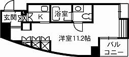 シンクロニー[4階]の間取り