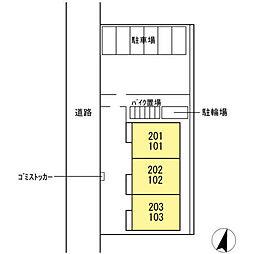 (仮称)D-roomたちばな台[203号室]の外観