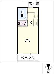メゾン・ド・コンフォール[5階]の間取り
