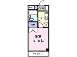 ファミリーナタマ[2階]の間取り