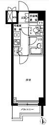 ルーブル二子多摩川[4階]の間取り