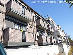 兵庫県神戸市中央区北野町2丁目の賃貸アパートの外観