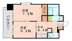 カーサマニフィック[2階]の間取り
