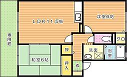 ウィルモアWADA(ウィルモアワダ)[1階]の間取り
