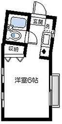 アーバンルーム洋光台[1階]の間取り