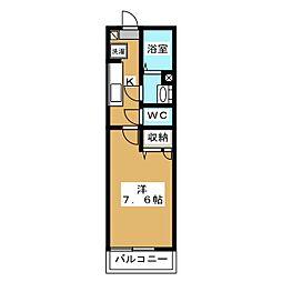メゾンDAIDO[2階]の間取り