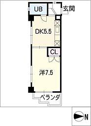 フェニックスハイツ[3階]の間取り