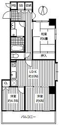 南側に面した洋室は2部屋あり、北側は落ち着いた和室となっています。東側洋室はダイニングとの間の引戸を開放し、広い空間としてお使いいただけます。