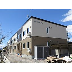 北海道函館市桔梗1丁目の賃貸アパートの外観
