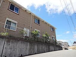 兵庫県三田市天神3丁目の賃貸アパートの外観